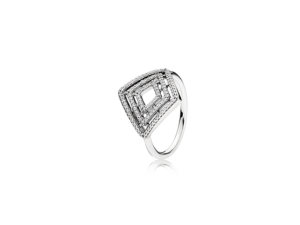 PANDORA Geometric Lines Ring
