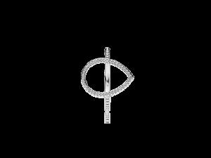 PANDORA Teardrop Silhouette Ring