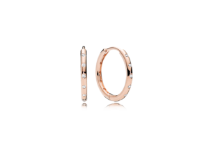 PANDORA Rose™ Droplets Hoop Earrings