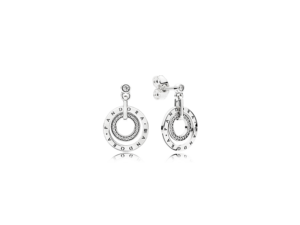PANDORA Circles Drop Earrings