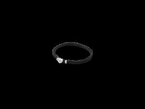 590749CBK PANDORA Fabric Cord Bracelet - Black