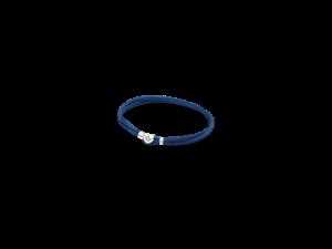 590749CDB PANDORA Fabric Cord Bracelet - Dark Blue