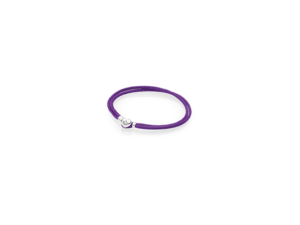 590749CPE PANDORA Fabric Cord Bracelet - Purple