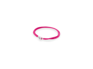 590749CPH PANDORA Fabric Cord Bracelet - Hot Pink