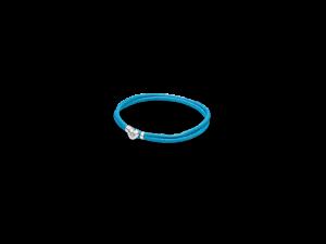 590749CTQ PANDORA Fabric Cord Bracelet - Turquoise