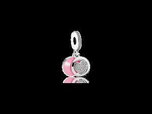 792149EN24 PANDORA Devoted Heart Dangle Charm