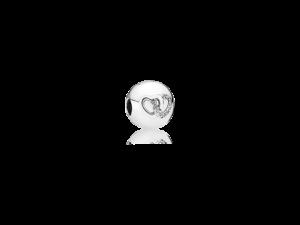 792150CZ PANDORA Heart Bond Charm