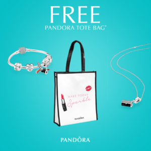 PANDORA Jewelry Gift with Purchase Promotional