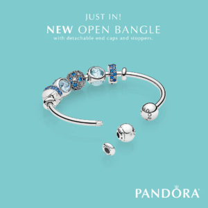 Pandora Jewelry Open Bangle Bracelet