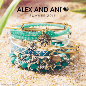 Alex and Ani Summer Bangles