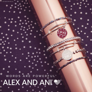 Alex and Ani Words are Powerful Holiday 2017