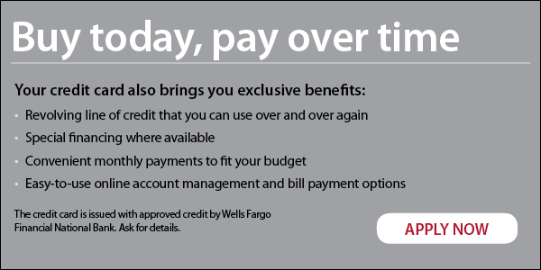 Valdosta Vault Wells Fargo Financing