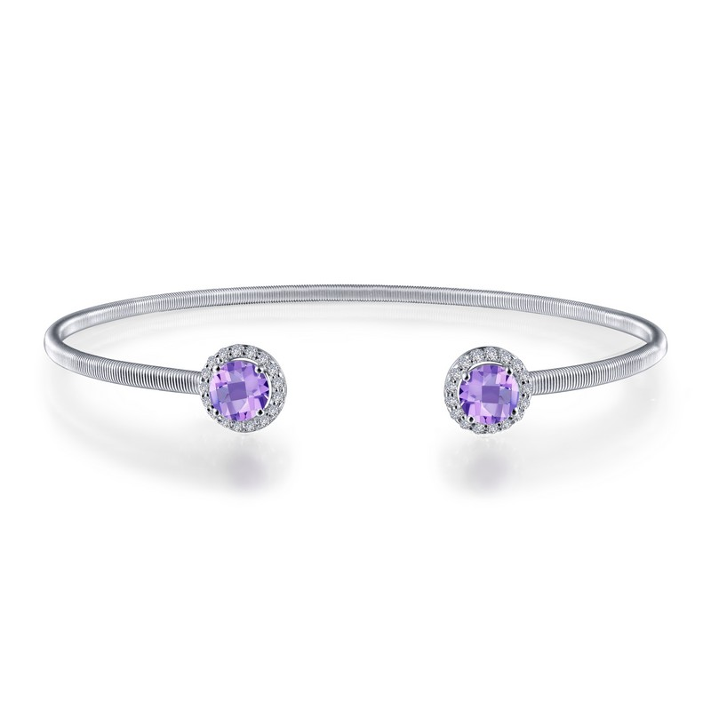 Lafonn February Birthstone Bangle