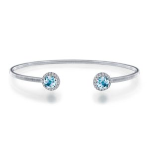 Lafonn March Birthstone Bangle