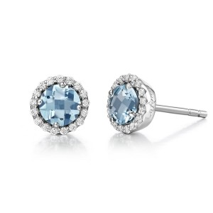 Lafonn March Birthstone Earrings