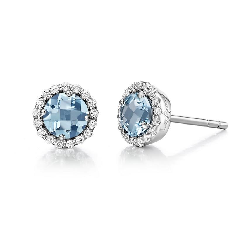 Lafonn March Birthstone Earrings