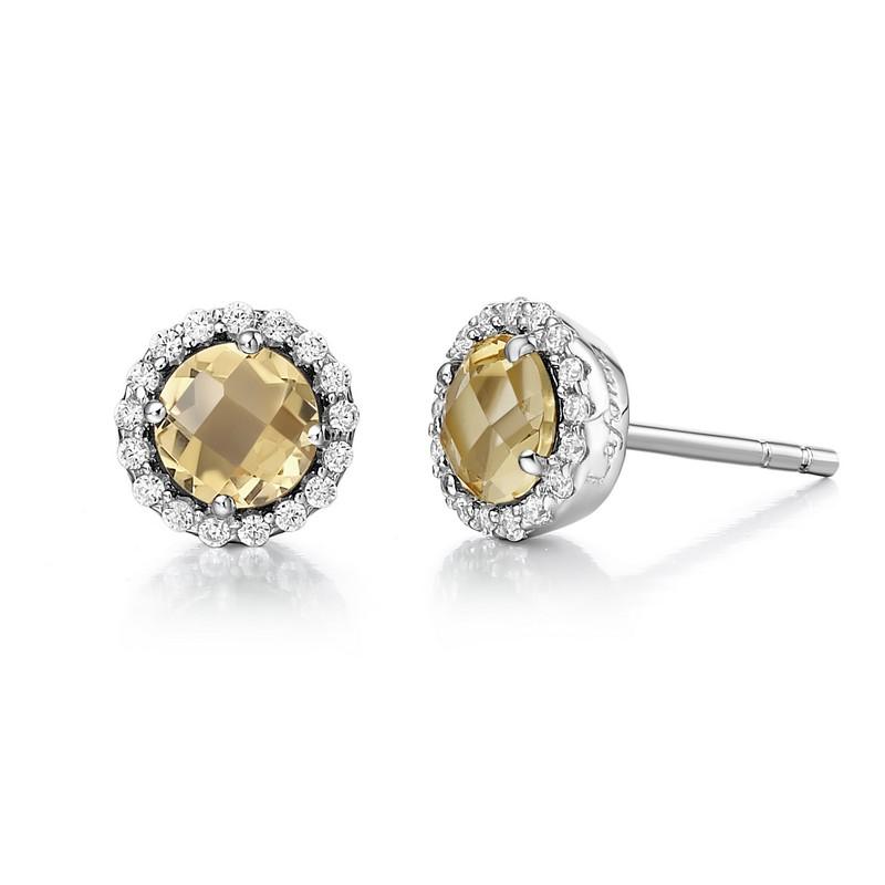 Lafonn November Birthstone Earrings