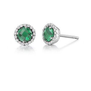Lafonn May Birthstone Earrings