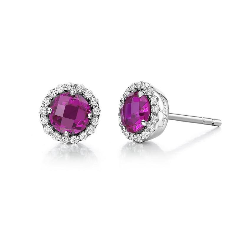 Lafonn July Birthstone Earrings