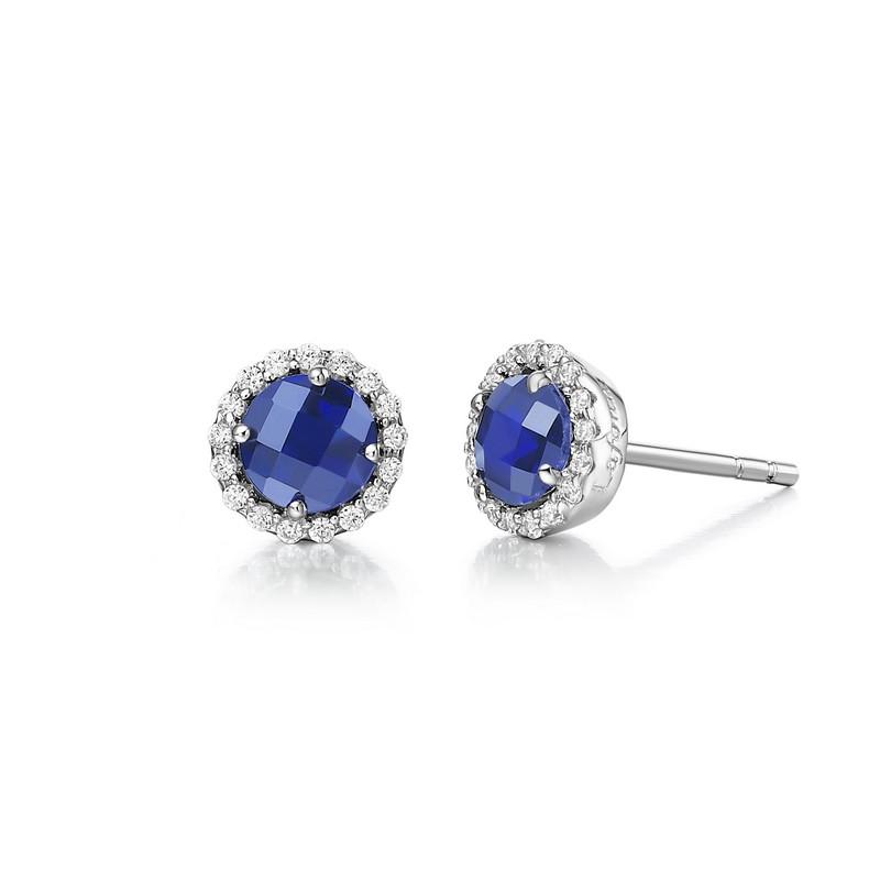 Lafonn September Birthstone Earrings