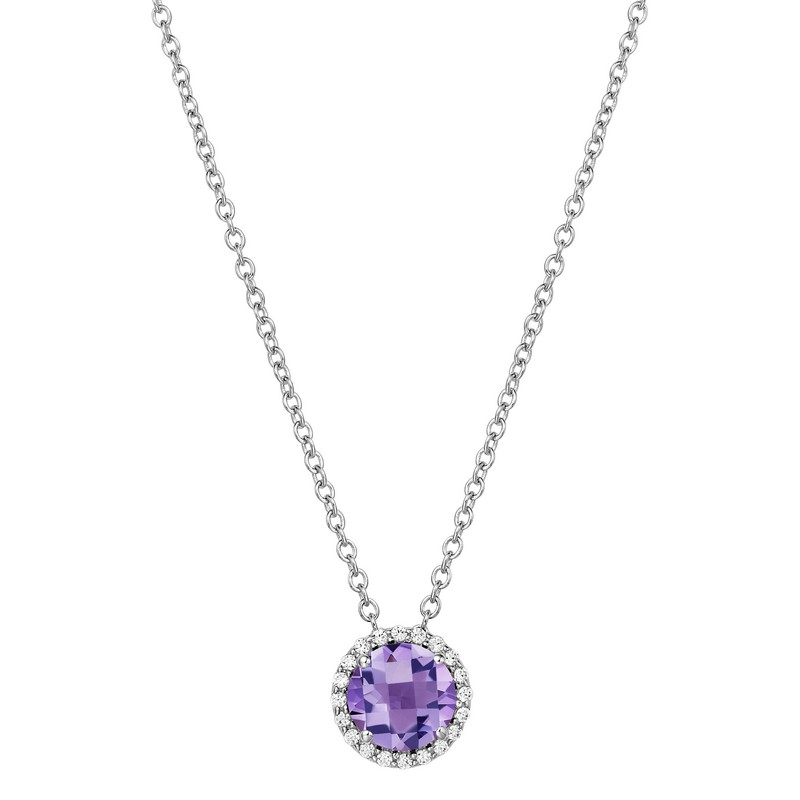 Lafonn February Birthstone Necklace