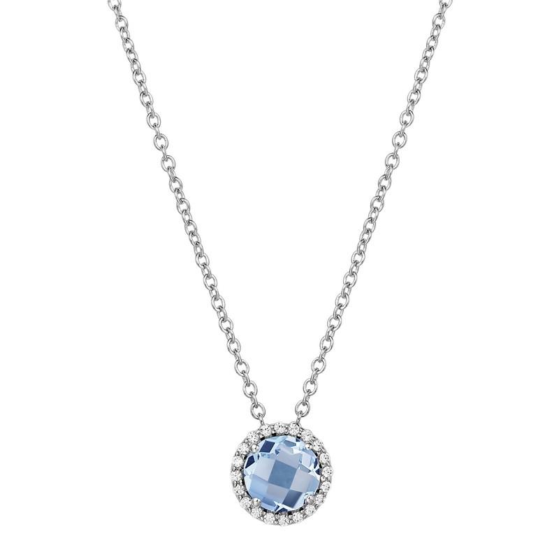 Lafonn March Birthstone Necklace