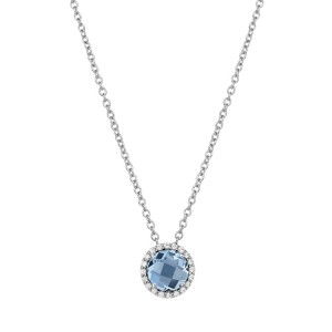 Lafonn December Birthstone Necklace