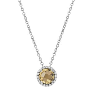 Lafonn November Birthstone Necklace