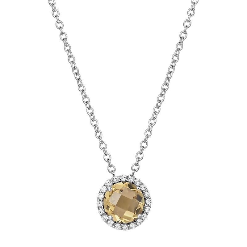 Lafonn November Birthstone Necklace