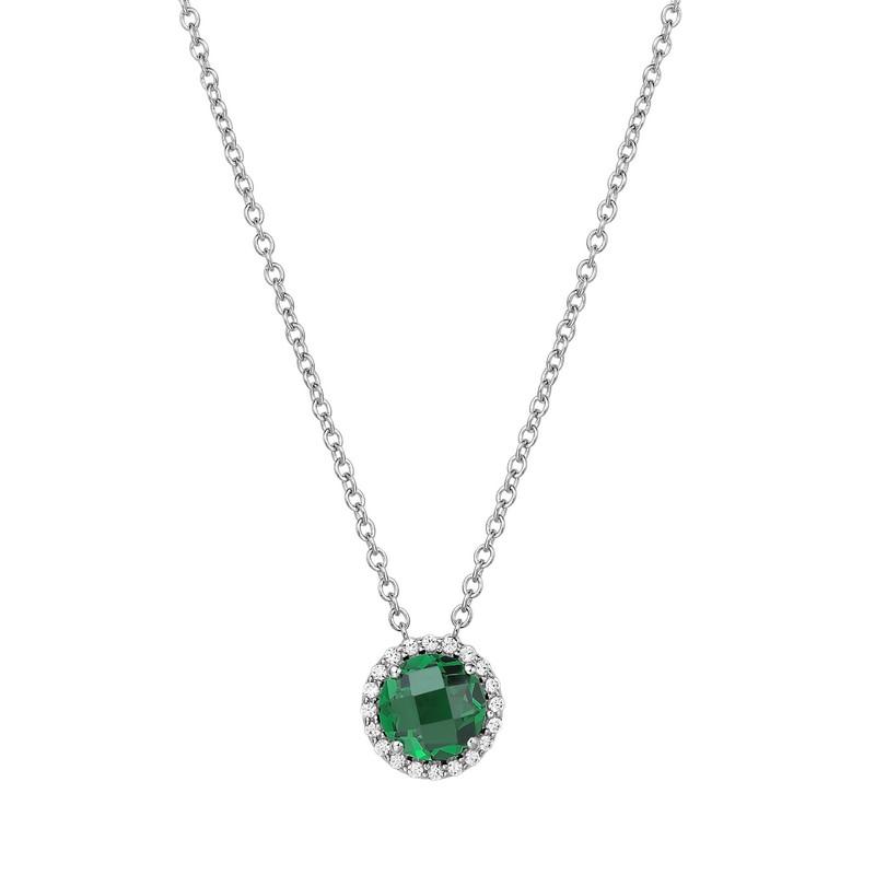 Lafonn May Birthstone Necklace