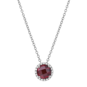 Lafonn January Birthstone Necklace