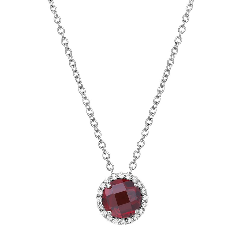 Lafonn January Birthstone Necklace