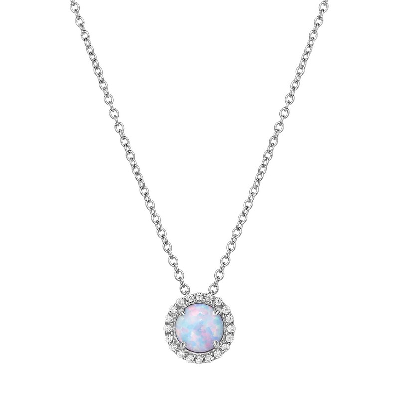 Lafonn October Birthstone Necklace