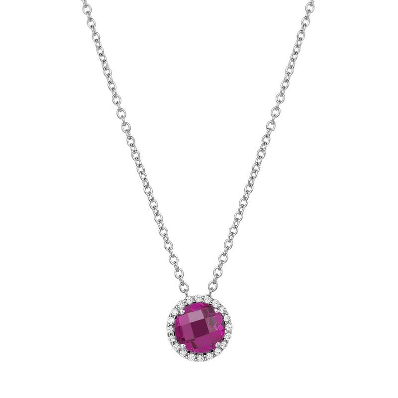 Lafonn July Birthstone Necklace