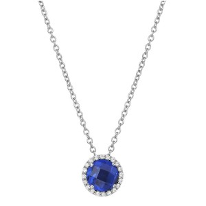 Lafonn September Birthstone Nekclace