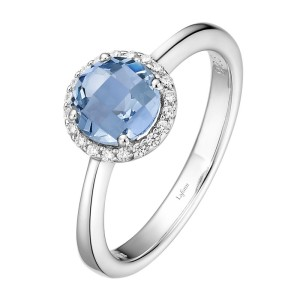 Lafonn December Birthstone Ring