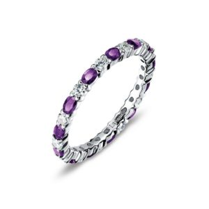 Lafonn February Birthstone Band