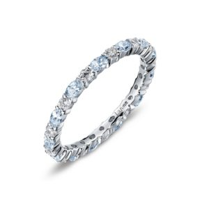 Lafonn March Birthstone Band