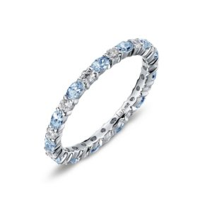 Lafonn December Birthstone Band