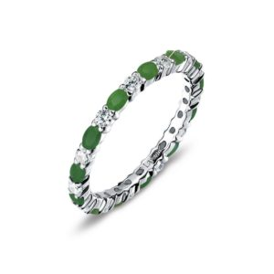 Lafonn May Birthstone Band