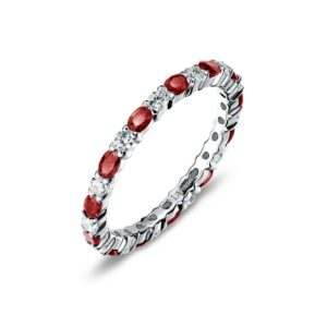 Lafonn January Birthstone Band