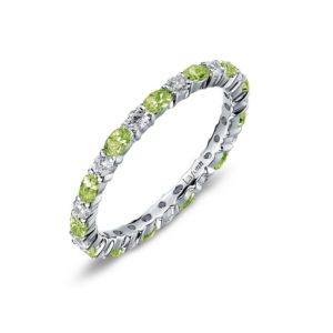 Lafonn August Birthstone Band