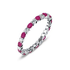 Lafonn July Birthstone Band