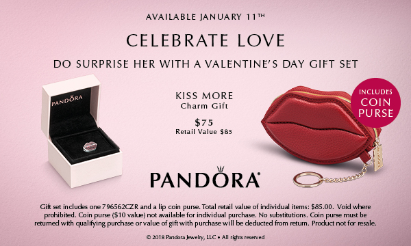 PANDORA Valentine Gift Set - Kiss More