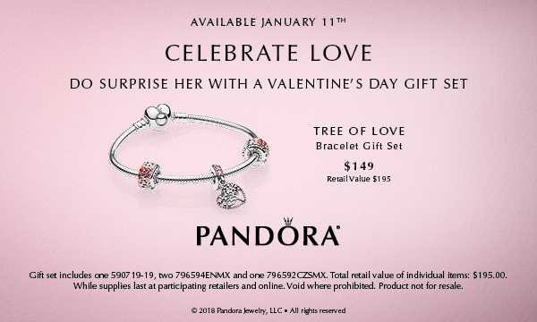 PANDORA Valentine's Gift - Tree of Love