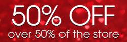 50% off Valentine Sale