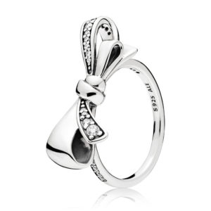 PANDORA 197232CZ Brilliant Bow Ring