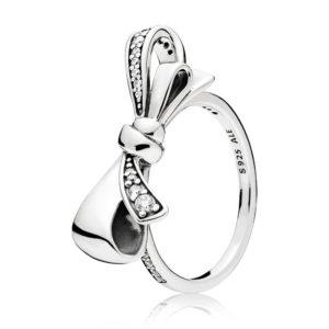PANDORA 197232CZ Brilliant Bow Ring