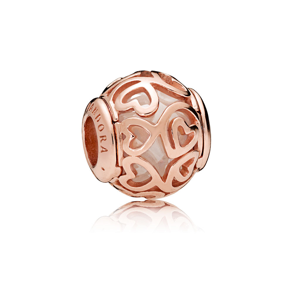 PANDORA Rose™ 787348CZ Hearts Filigree Charm