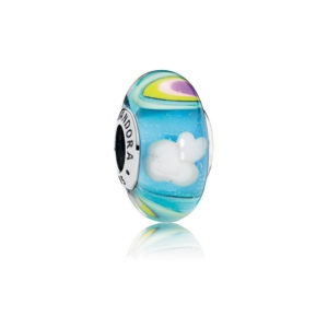 PANDORA 797013 Rainbow Murano Glass